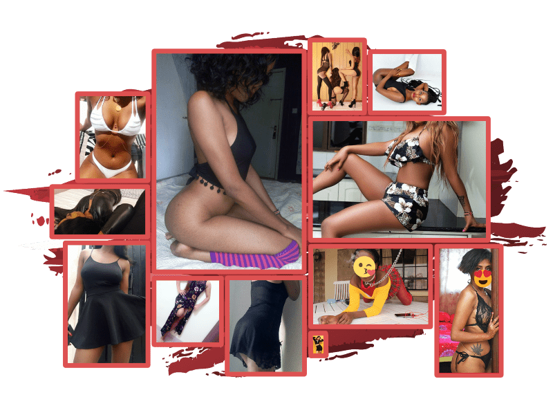 Collage of sexy Nairobi girls